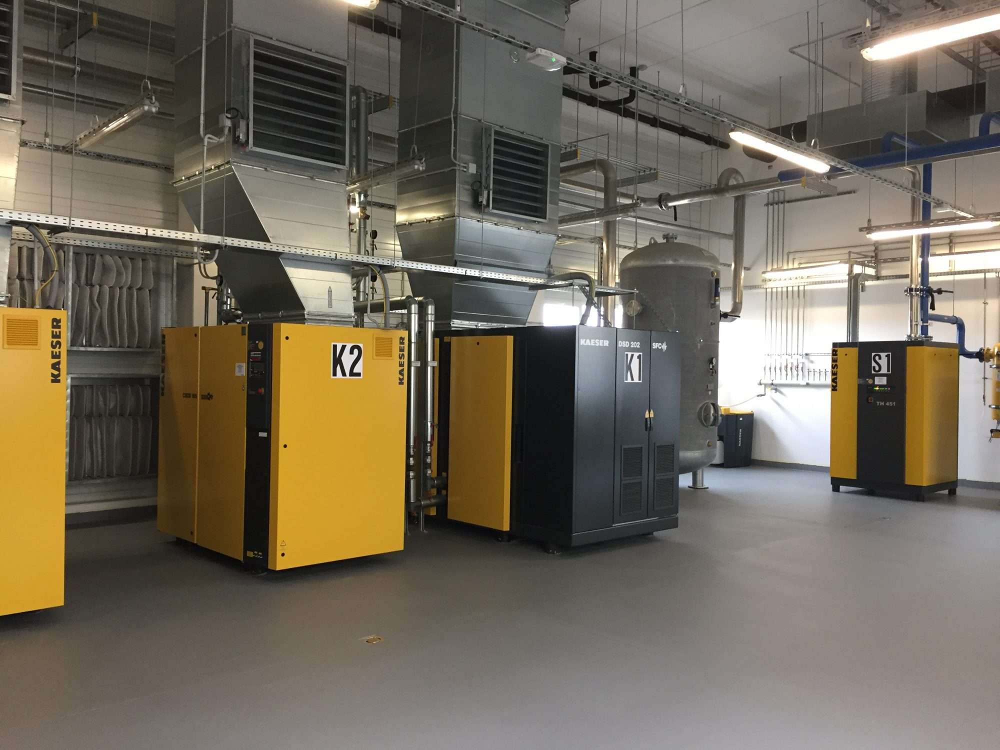 Compressor plants